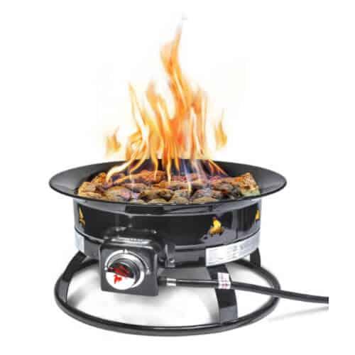 Outland Firebowl 893 Deluxe Outdoor Portable Propane Gas Fire Pit