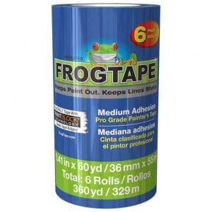 blue frog tape