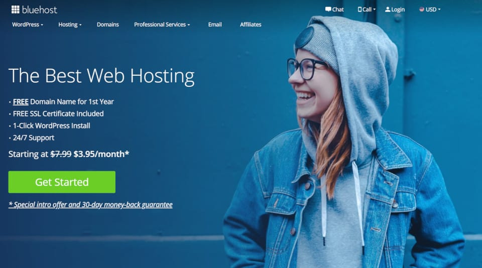bluehost small