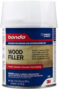 bondo wood filler
