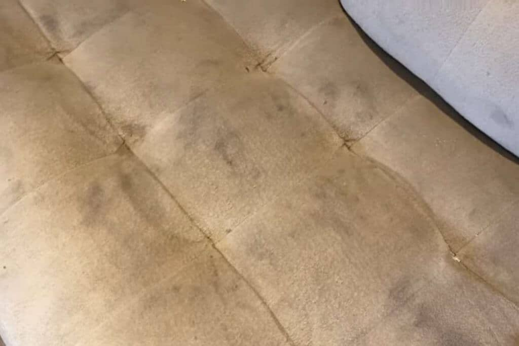 dirty couch stains bissel stain remover