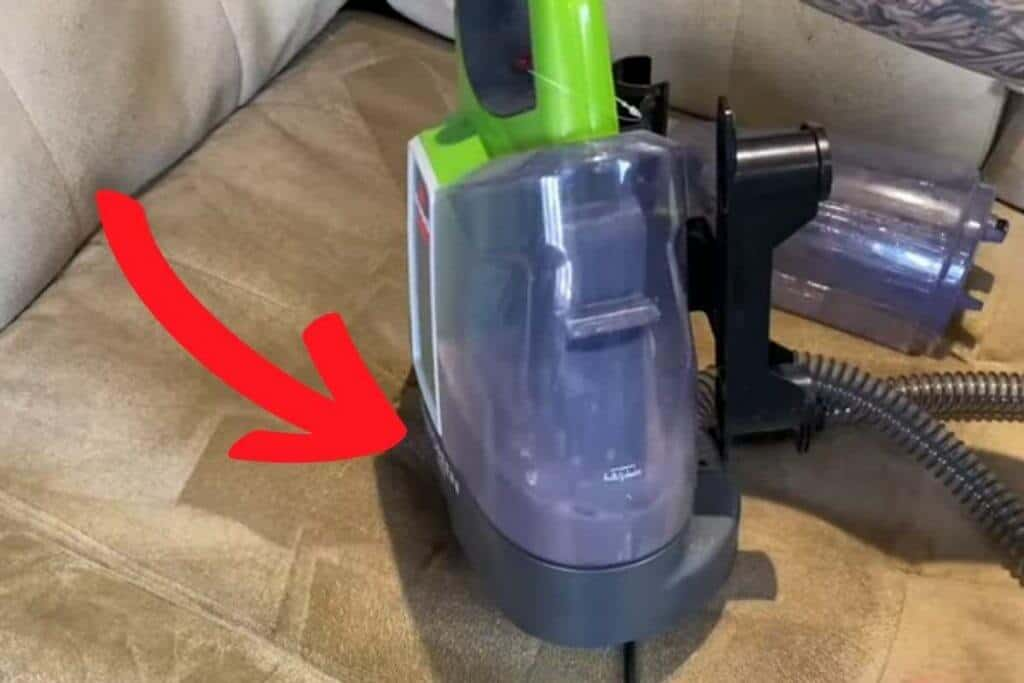 dirty couch stains bissell stain remover dirt water