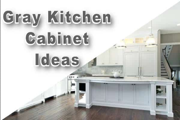 gray cabinets blog post