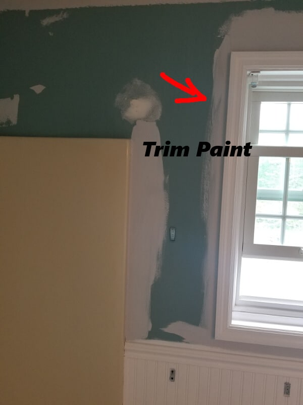 how to paint a room and where to start trim