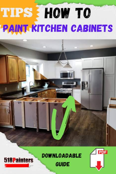 how to paint kitchen cabinets guide download