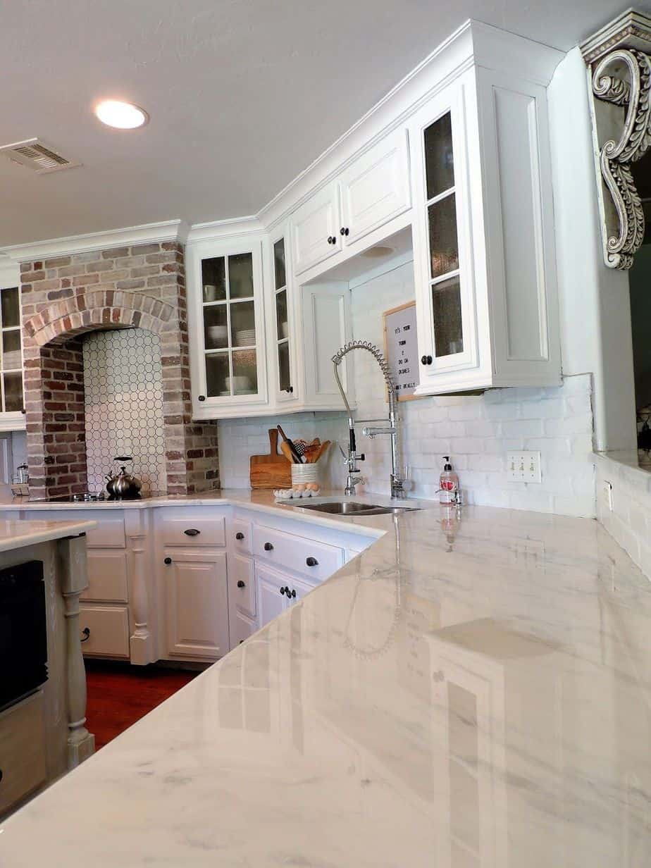 how to paint laminate countertops with epoxy