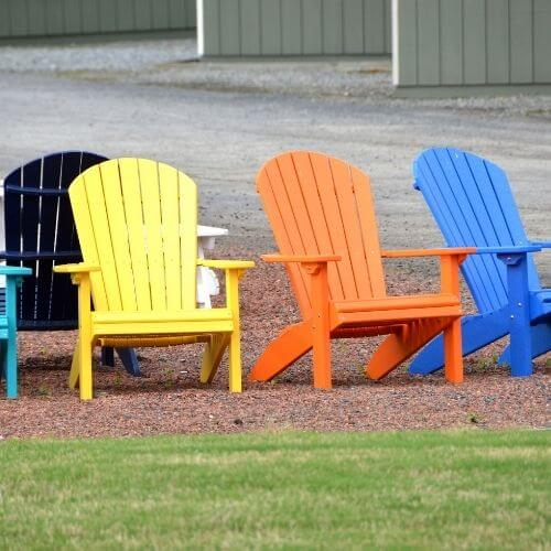 how to paint plastic lawn chairs 2