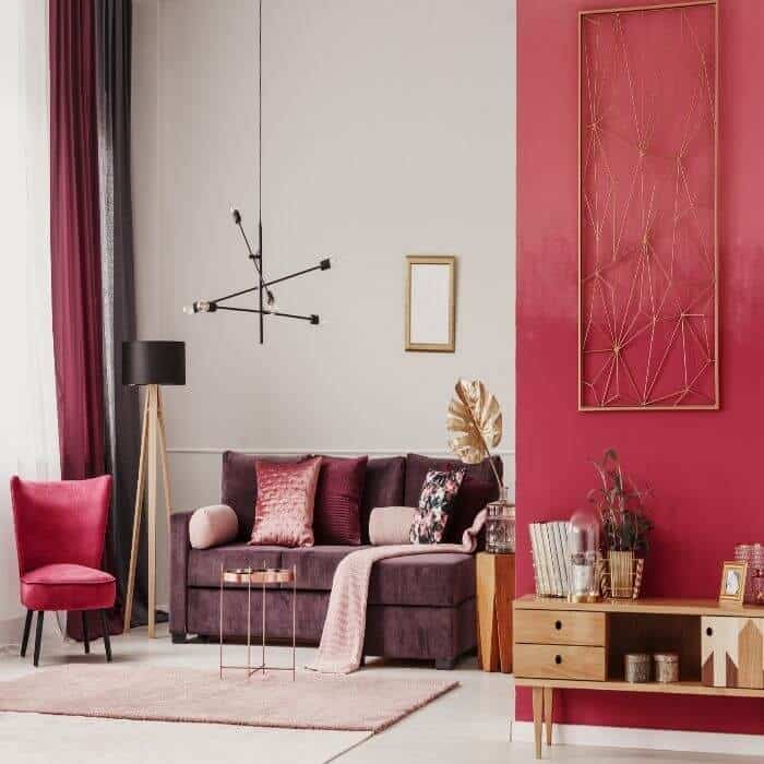 how to professionally decorate your home color