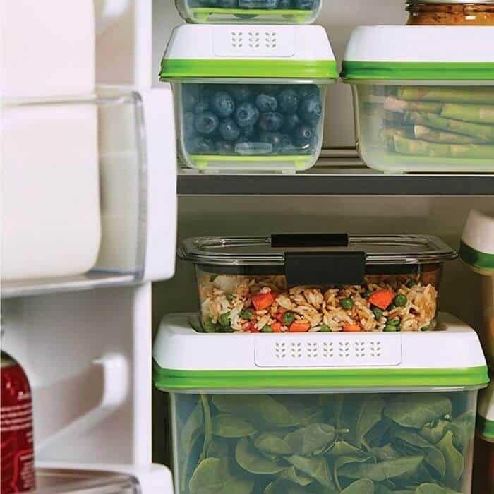 organize a fridge squeeze rubbermaid fresh works
