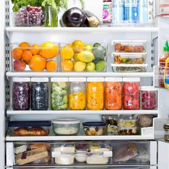 how to organize a fridge