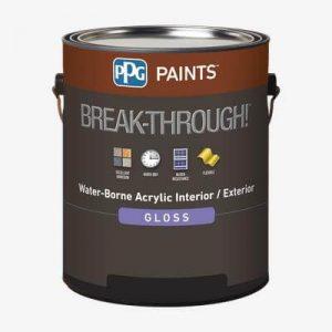 ppg breakthrough kitchen cabinet paint