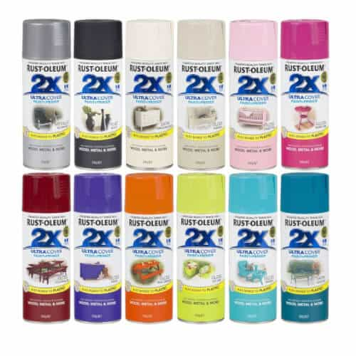 rustoleum aerosol spray cans 2