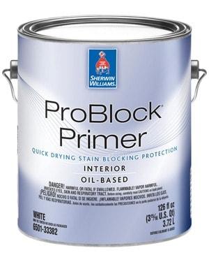 sherwin williams problock oil based primer