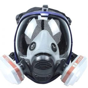 spray face mask fume respirator