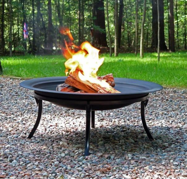 sunnydaze fire pit bowl