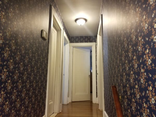 paint over wallpaper or remove