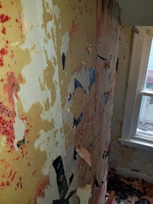 how to remove wallpaper or paint over wallpaper